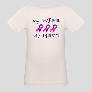 Hero Wife Tri Organic Baby T-Shirt