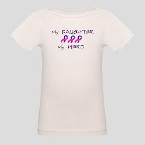 Hero Daughter Tri Organic Baby T-Shirt