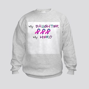 Hero Daughter Tri Kids Sweatshirt