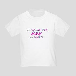 Hero Daughter Tri Toddler T-Shirt