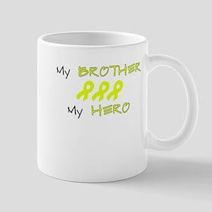 Hero Brother Yellow Mug