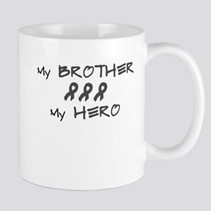 Hero Brother Gray Mug