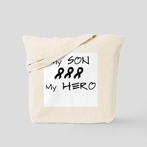 Hero Son Black Tote Bag