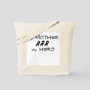 Hero Mother Black Tote Bag