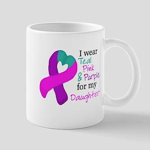 I WEAR TRI for my Daughter Mug