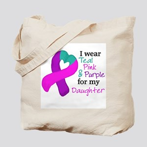 I WEAR TRI for my Daughter Tote Bag