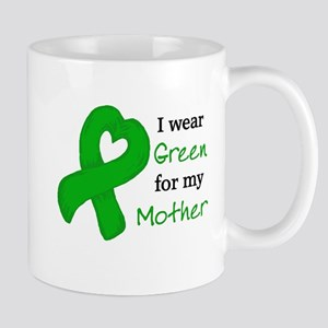 I WEAR GREEN for my Mother Mug