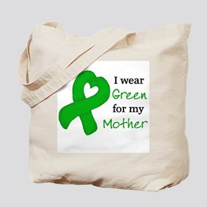I WEAR GREEN for my Mother Tote Bag