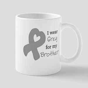 I WEAR GREY for my Brother Mug