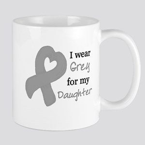 I WEAR GREY for my Daughter Mug