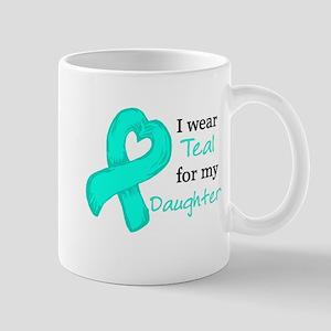 I wear TEAL for my Daughter Mug