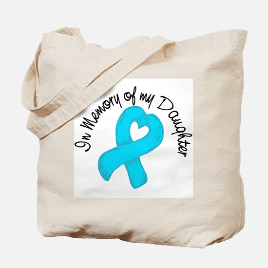 Memory Teal Daughter Tote Bag