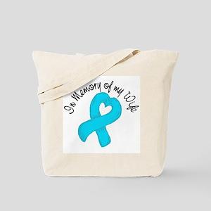 Memory Teal Wife Tote Bag