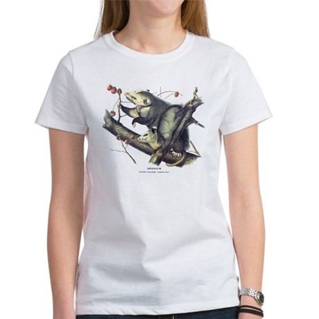 Audubon Opossum Possum Women's T-Shirt