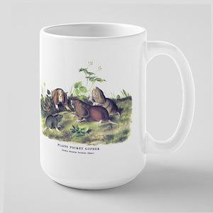 Audubon Gopher Animal Large Mug