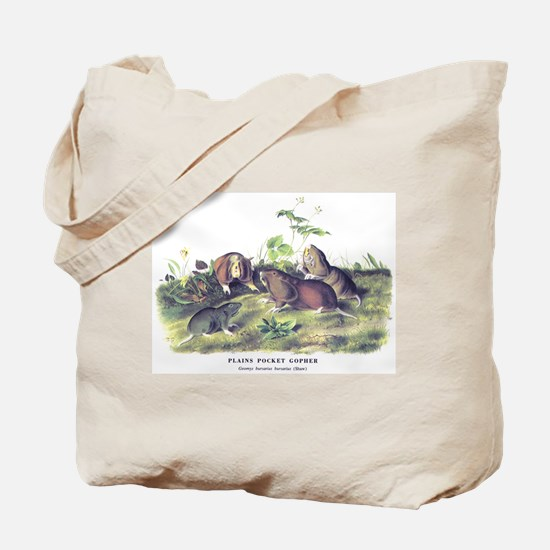 Audubon Gopher Animal Tote Bag