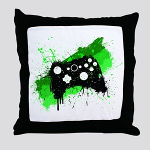 Graffiti Box Pad Throw Pillow