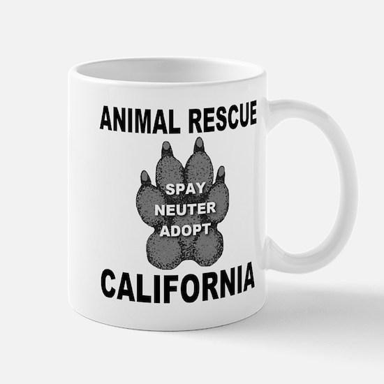 California Paw Animal Rescue Mug