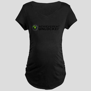 Achievement Unlocked Maternity Dark T-Shirt