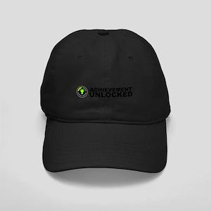 Achievement Unlocked Black Cap