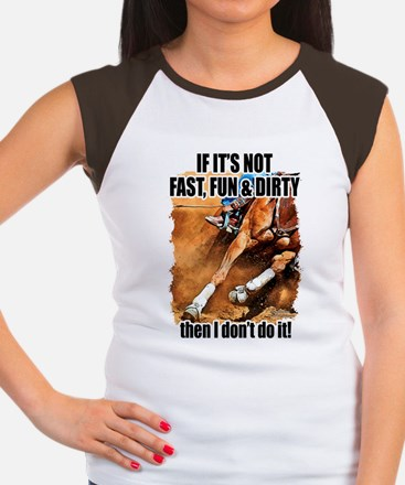 Fast Fun & Dirty Women's Cap Sleeve T-Shirt