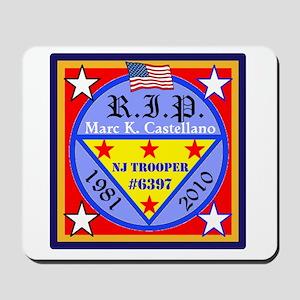 RIP Badge 6397 Mousepad