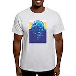 Football player Ash Grey T-Shirt