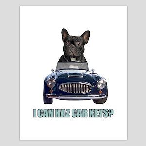 LOL French Bulldog Small Poster