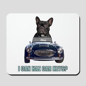 LOL French Bulldog Mousepad