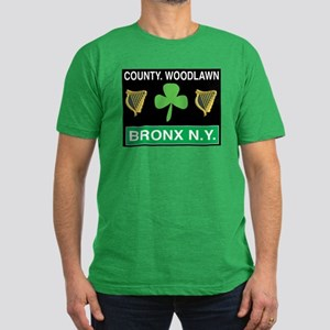 County Woodlawn Men's Fitted T-Shirt (dark)
