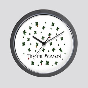 'Tis the Season Wall Clock