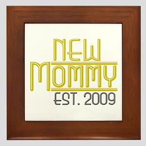 New Mommy Est 2009 Framed Tile