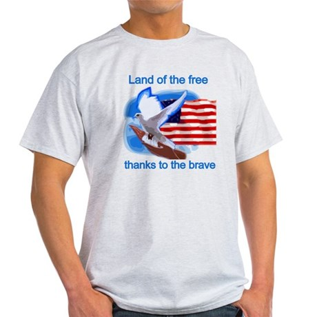 Land of the Free Light T-Shirt