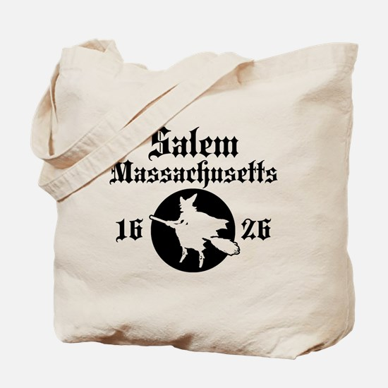 Salem Massachusetts Tote Bag