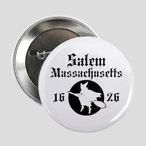 """Salem Massachusetts 2.25"""" Button"""