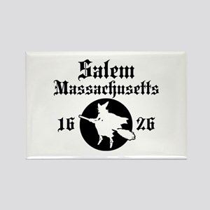 Salem Massachusetts Rectangle Magnet