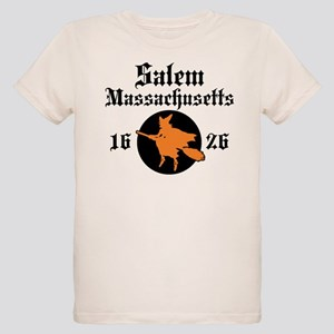 Salem Massachusetts Organic Kids T-Shirt