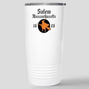 Salem Massachusetts Stainless Steel Travel Mug