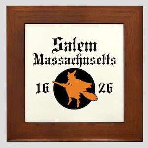 Salem Massachusetts Framed Tile
