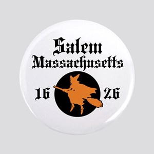 """Salem Massachusetts 3.5"""" Button"""