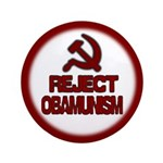 "Reject Obamunism 3.5"" Button"