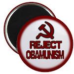 """Reject Obamunism 2.25"""" Magnet (100 pack)"""