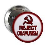 "Reject Obamunism 2.25"" Button (10 pack)"