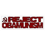 Reject Obamunism Bumper Sticker