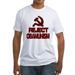 Reject Obamunism Fitted T-Shirt