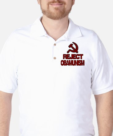 Reject Obamunism Golf Shirt