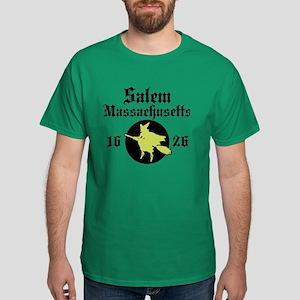 Salem Massachusetts Dark T-Shirt