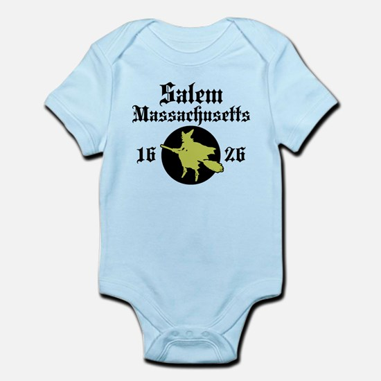 Salem Massachusetts Infant Bodysuit