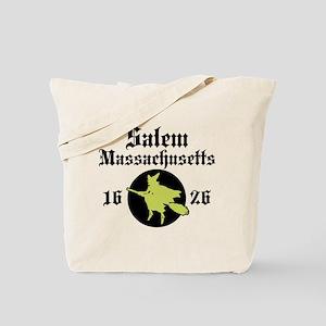 Salem Massachusetts Tote Bag