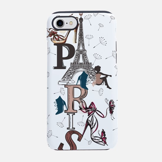 Paris iPhone 7 Tough Case